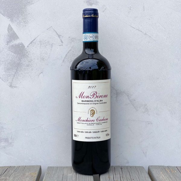 Barbera Monbirone bottle