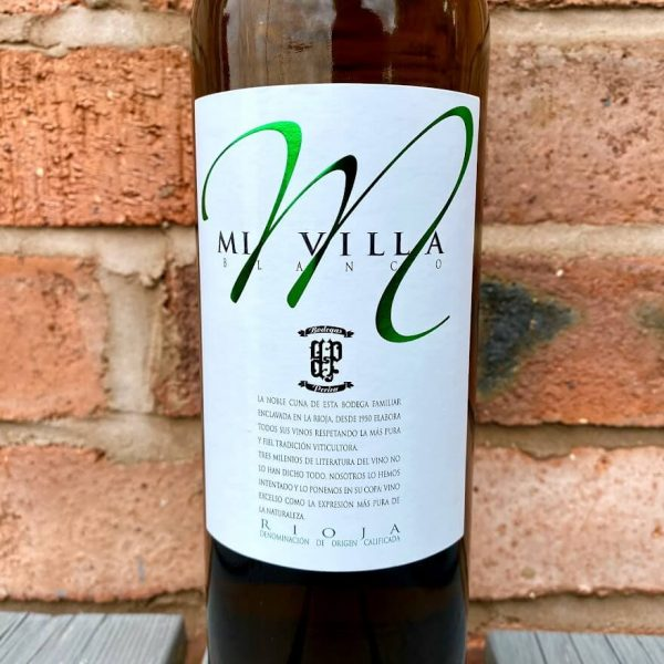 Rioja Blanco fron label