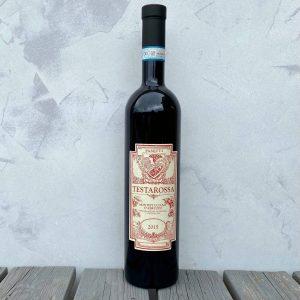Testarossa rosso bottle